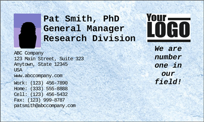Business Card w Photo (Advanced)