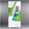 33x84 retractable banner with stand
